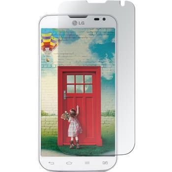 2 x LG L90 Dual Displayschutzfolie matt
