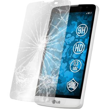 2 x LG L Bello Protection Film Tempered Glass Clear