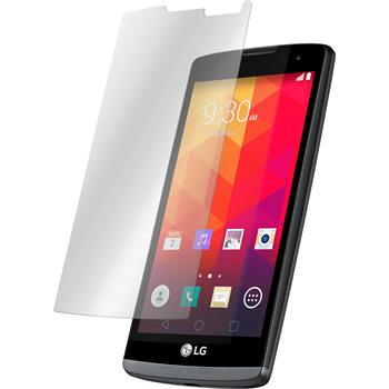2 x LG Leon Protection Film Tempered Glass Clear