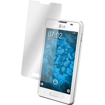 2 x LG Optimus L4 II Protection Film Clear