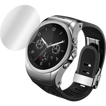 2 x LG Watch Urbane LTE Displayschutzfolie klar