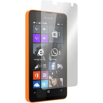 2 x Microsoft Lumia 430 Dual Protection Film Clear