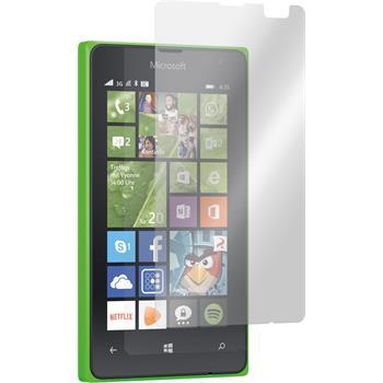 2 x Lumia 435 Schutzfolie matt