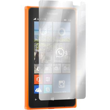 2 x Lumia 532 Schutzfolie verspiegelt