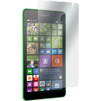 2 x Lumia 535 Schutzfolie matt
