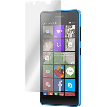 2 x Microsoft Lumia 540 Dual Displayschutzfolie klar