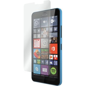 2x Lumia 640 XL klar Glasfolie