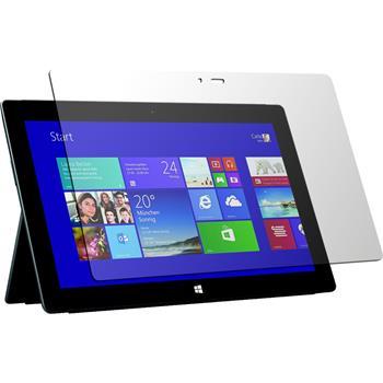 2 x Microsoft Surface 2 Displayschutzfolie klar