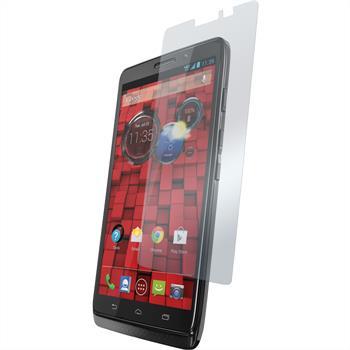2 x Motorola DROID Maxx Displayschutzfolie klar