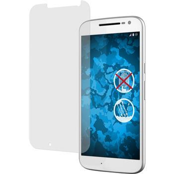 2 x Motorola Moto G4 Displayschutzfolie matt