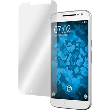 2 x Motorola Moto G4 Protection Film clear