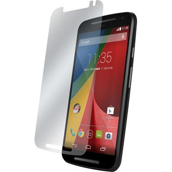 2 x Motorola Moto G 2014 2. Generation Displayschutzfolie matt