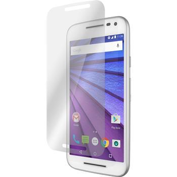 2 x Motorola Moto G 2015 3. Generation Protection Film Anti-Glare