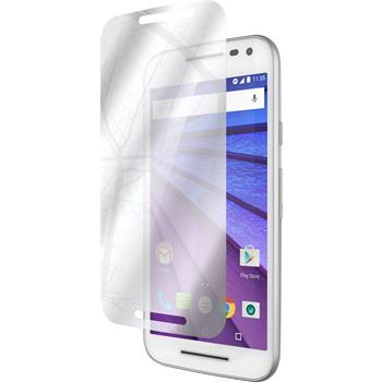 2 x Motorola Moto G 2015 3. Generation Protection Film Mirror