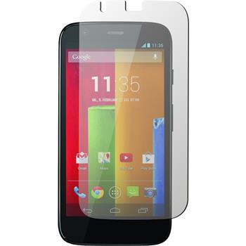 2 x Motorola Moto G Displayschutzfolie matt