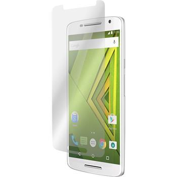 2 x Motorola Moto X Play Displayschutzfolie matt