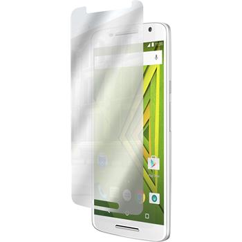 2 x Motorola Moto X Play Protection Film Mirror