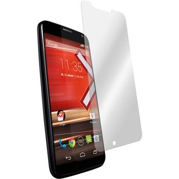 2 x Motorola Moto X Protection Film Tempered Glass Clear