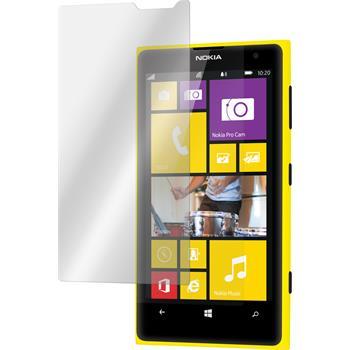 2x Lumia 1020 klar Glasfolie