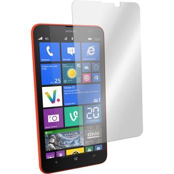 2x Lumia 1320 klar Glasfolie