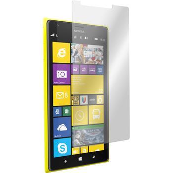 2x Lumia 1520 klar Glasfolie