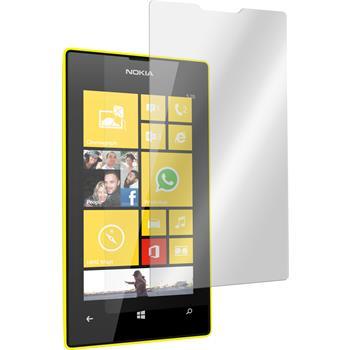 2x Lumia 520 klar Glasfolie