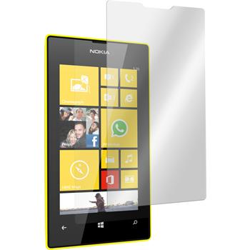 2 x Nokia Lumia 520 Protection Film Tempered Glass Clear
