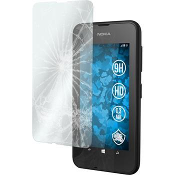 2 x Nokia Lumia 530 Glas-Displayschutzfolie klar