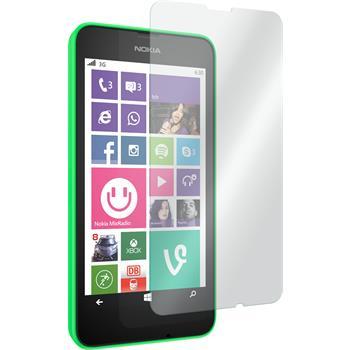 2x Lumia 635 klar Glasfolie