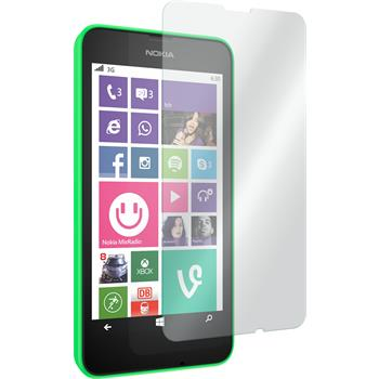 2 x Nokia Lumia 635 Protection Film Tempered Glass Clear