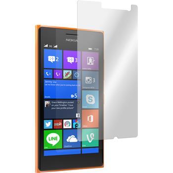 2x Lumia 730 klar Glasfolie