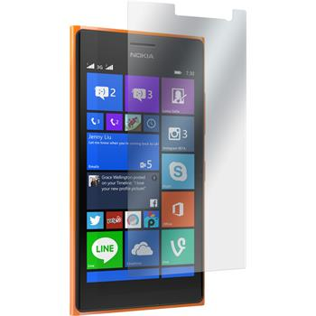 2 x Lumia 730 Schutzfolie matt