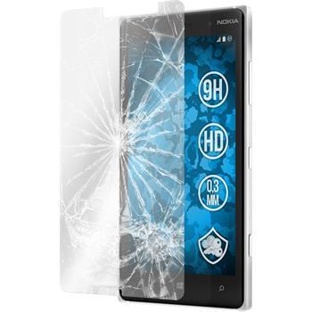 2x Lumia 830 klar Glasfolie