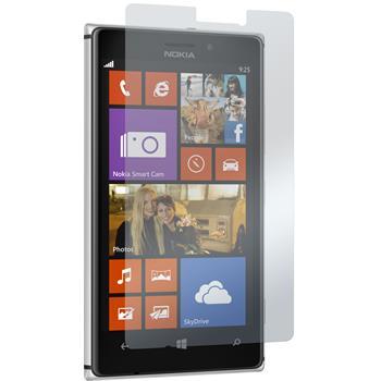 2 x Nokia Lumia 925 Schutzfolie klar