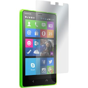 2 x Nokia X2 Protection Film Clear
