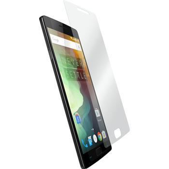 2x OnePlus 2 klar Glasfolie