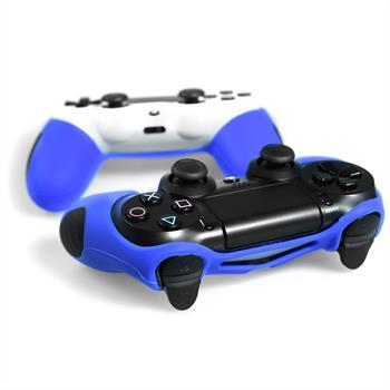 2 x PhoneNatic Controller-Hülle Blau für das PlayStation 4 Gamepad