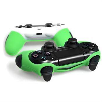 2 x PhoneNatic Controller-Hülle Grün für das PlayStation 4 Gamepad
