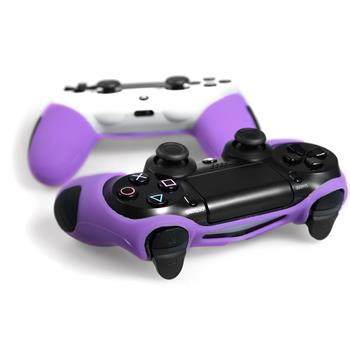 2 x PhoneNatic Controller-Hülle Lila für das PlayStation 4 Gamepad