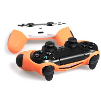 2 x PhoneNatic Controller-Hülle Orange für das PlayStation 4 Gamepad