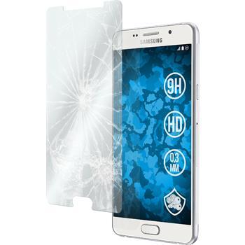 2x Galaxy A5 (2016) A510 klar Glasfolie