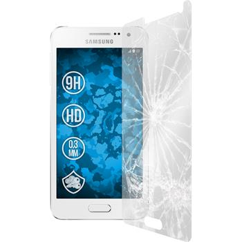 2 x Samsung Galaxy A5 Protection Film Tempered Glass Clear