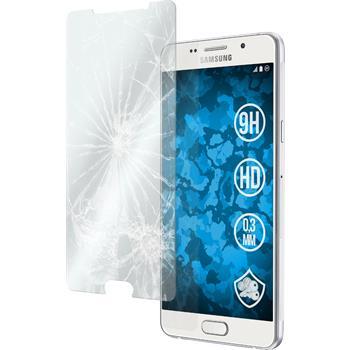 2x Galaxy A7 (2016) A710 klar Glasfolie