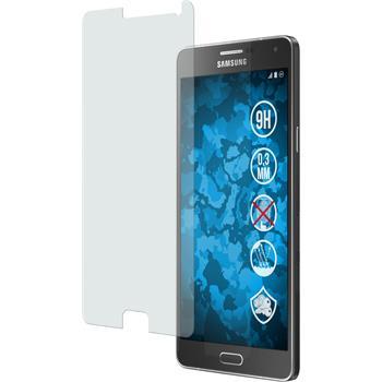 2 x Samsung Galaxy A7 Protection Film Tempered Glass Anti-Glare
