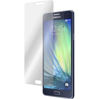 2 x Samsung Galaxy A7 Protection Film Tempered Glass Clear