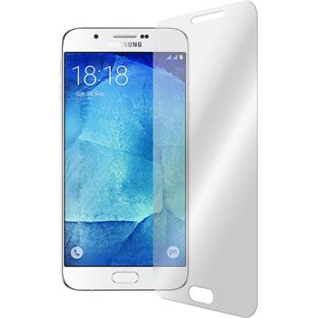2 x Samsung Galaxy A8 Protection Film Tempered Glass Clear