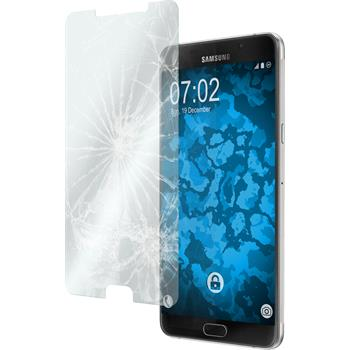 2x Galaxy A9 klar Glasfolie