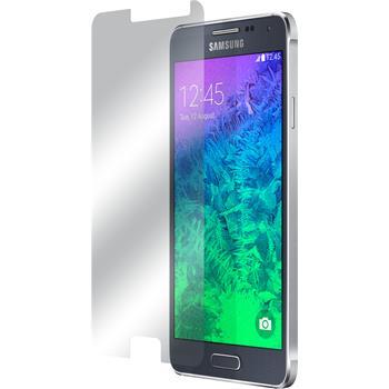 2 x Samsung Galaxy Alpha Displayschutzfolie klar