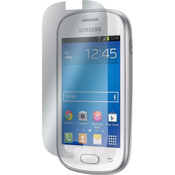 2 x Samsung Galaxy Fame Lite Protection Film Clear