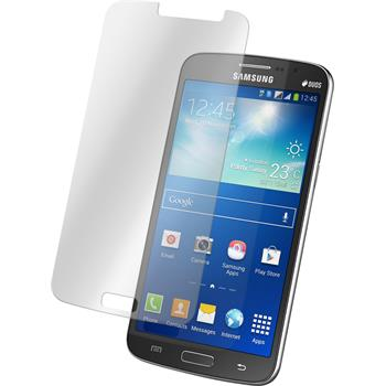 2 x Samsung Galaxy Grand 2 Protection Film Tempered Glass Clear